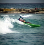 Riding the waves on Juan Dolio Beach